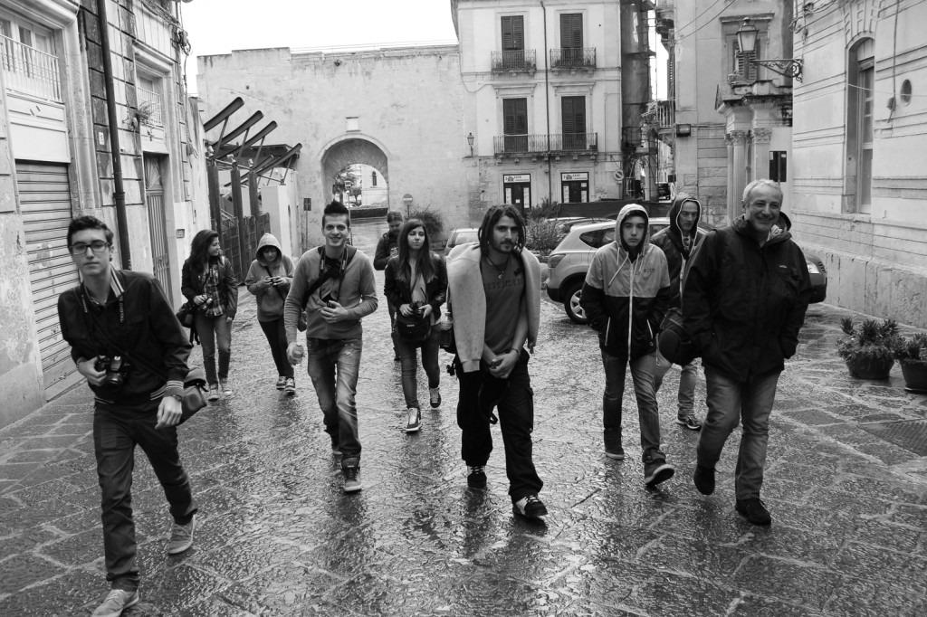 il gruppo di Street photographer, Salvo Magnano