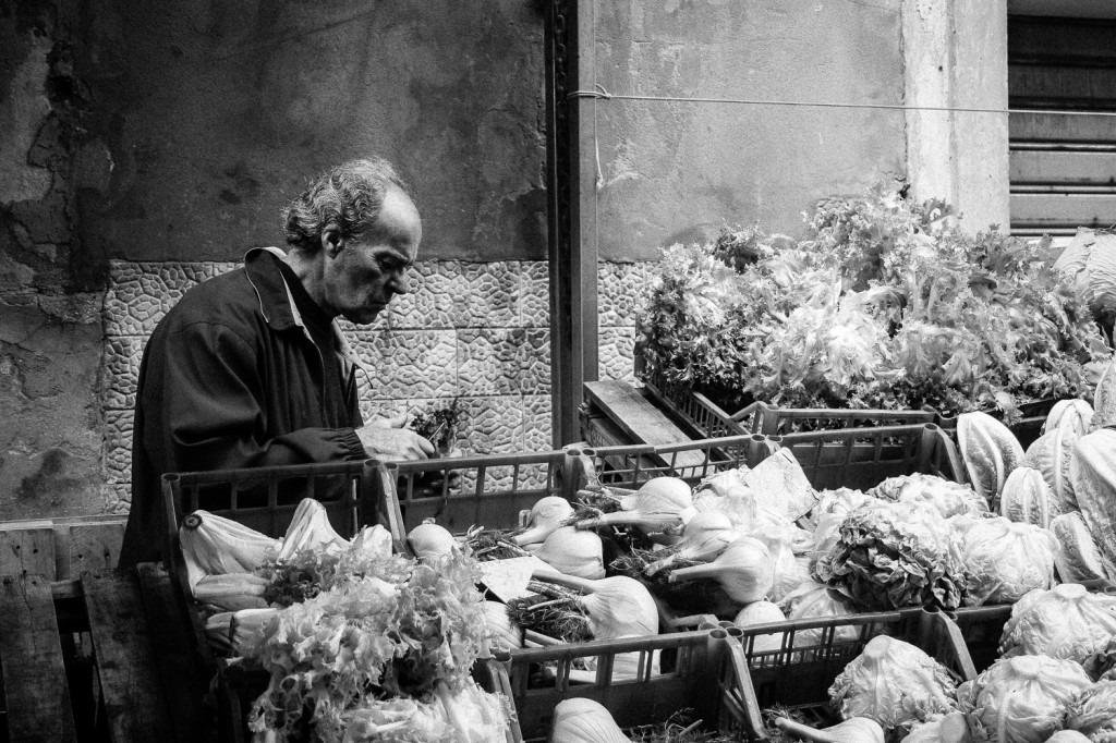 Al mercato, carlo musco