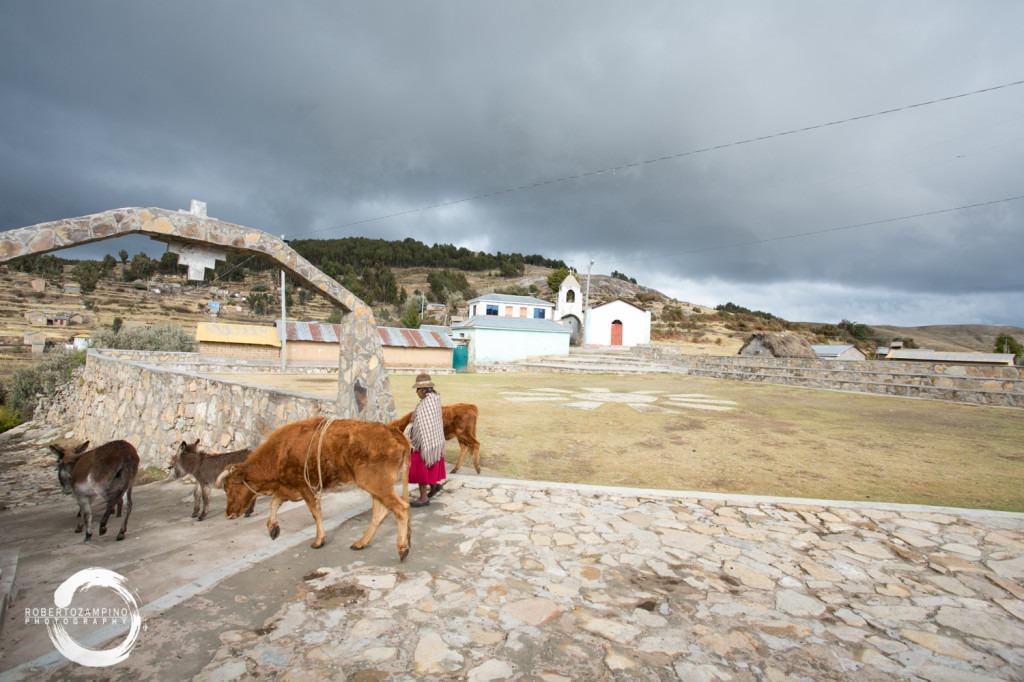 isla del sol - bolivia - yumani -