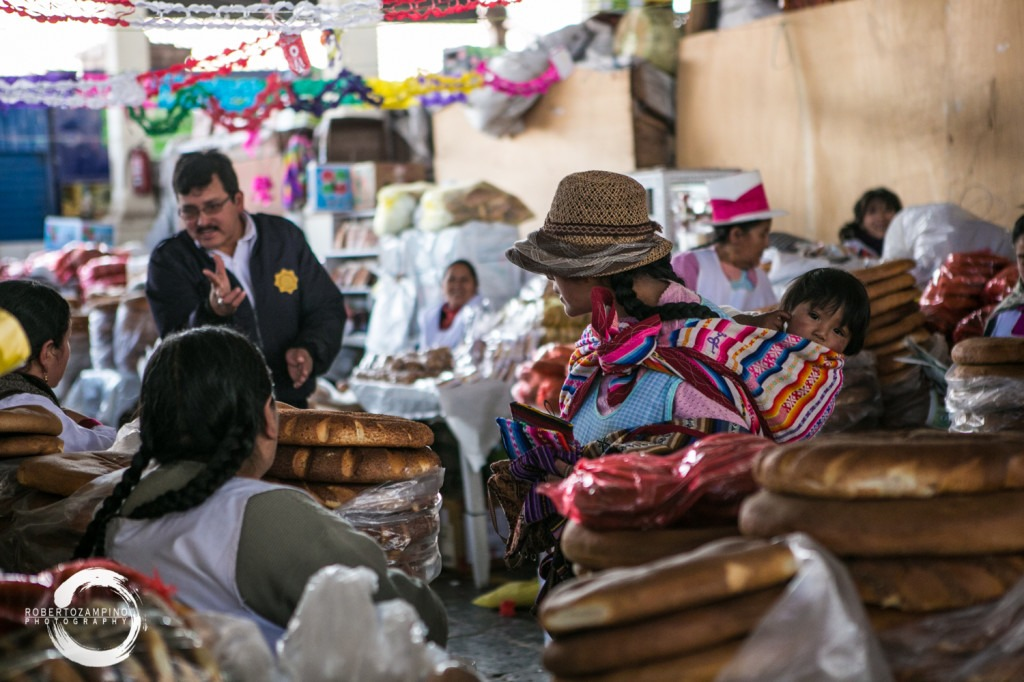 live discussion - san pedro market - cuzco peru
