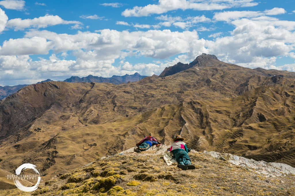 Chillihuani community - quechua community living isolated in the andes - cuzco region - peru