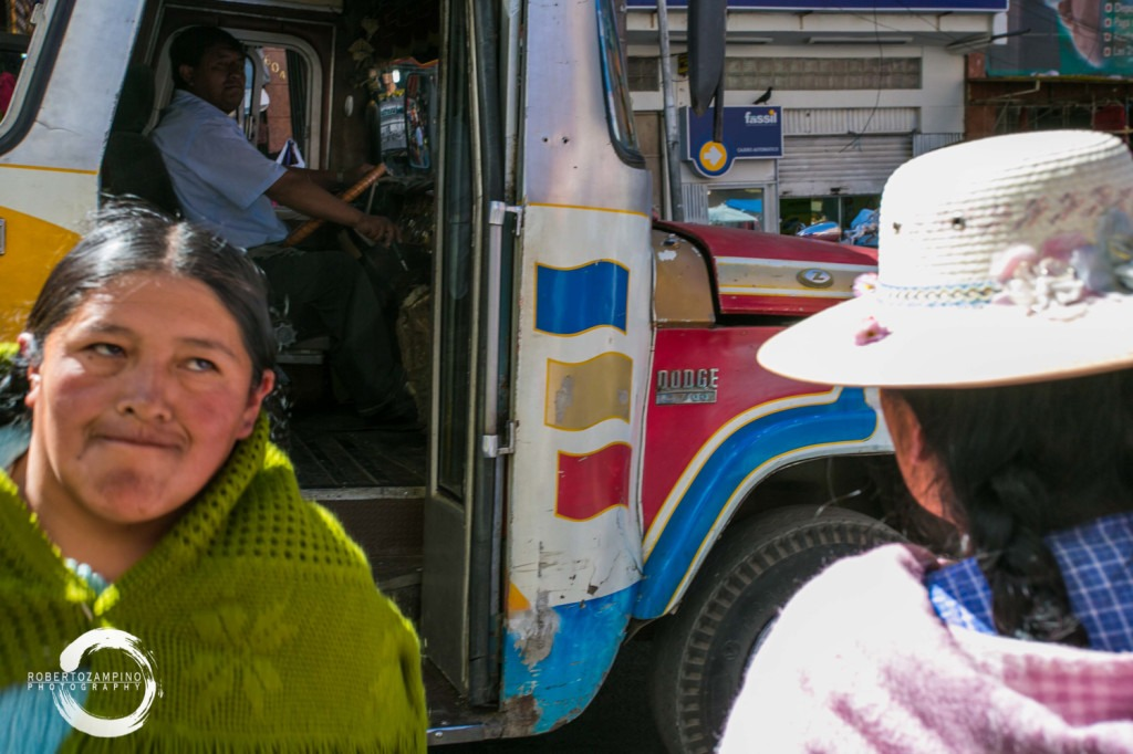 ordinary life - bustle and hustle from the highest capital  - bolivia - la paz market