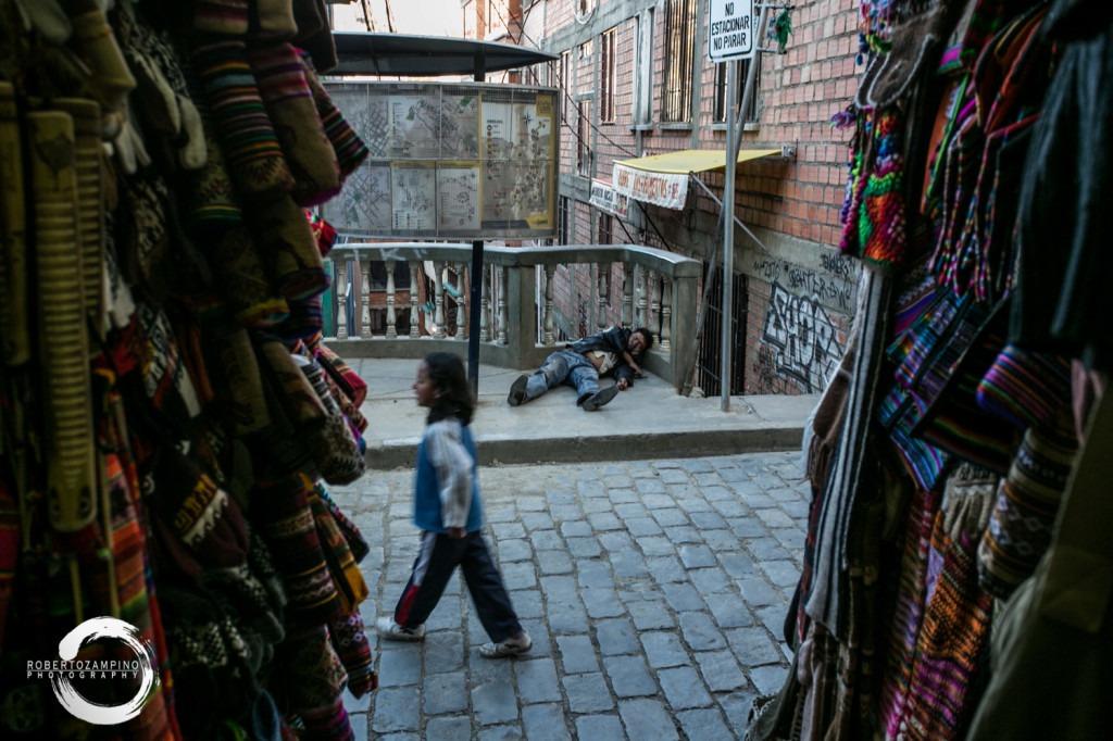 la paz - witch market - bolivia