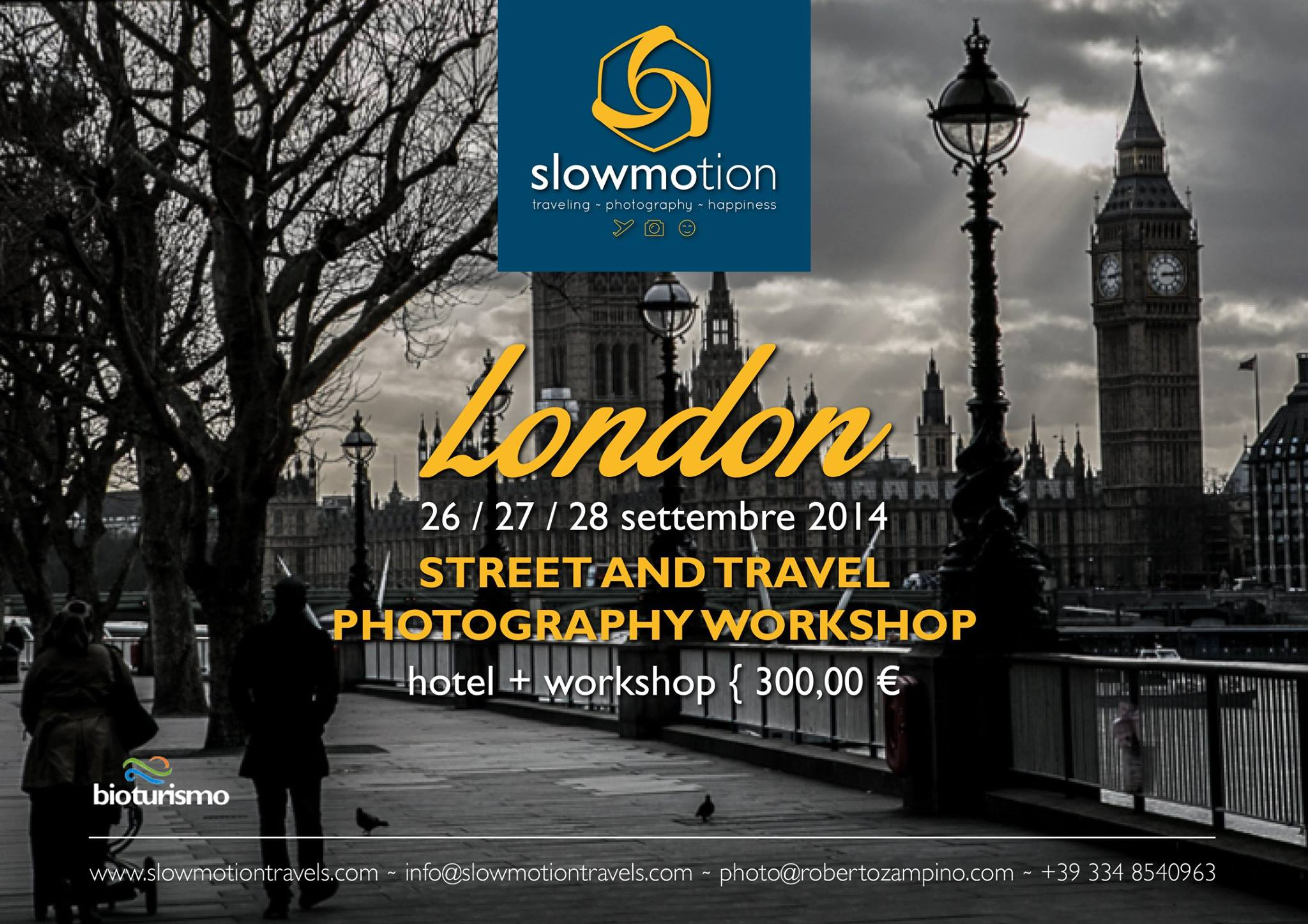 STREET AND TRAVEL PHOTOGRAPHY WORKSHOP LONDON / LONDRA 26 -27 – 28 SEPTEMBER