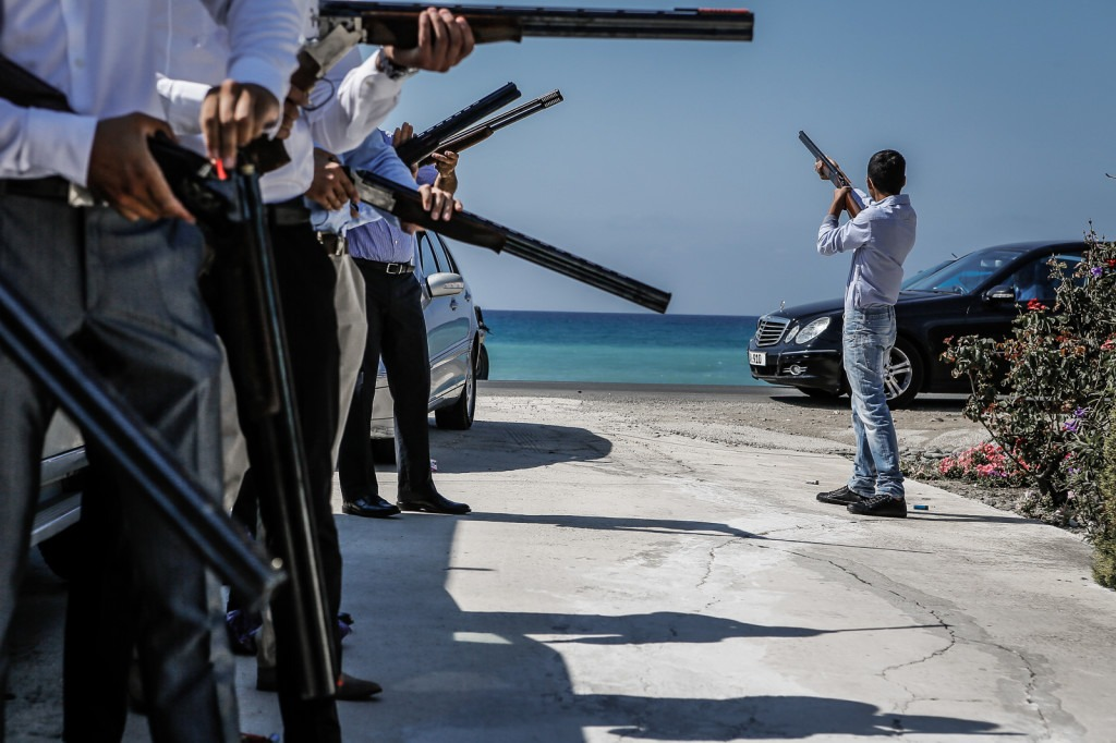 shootgun in cyprus - wedding photography - roberto zampino