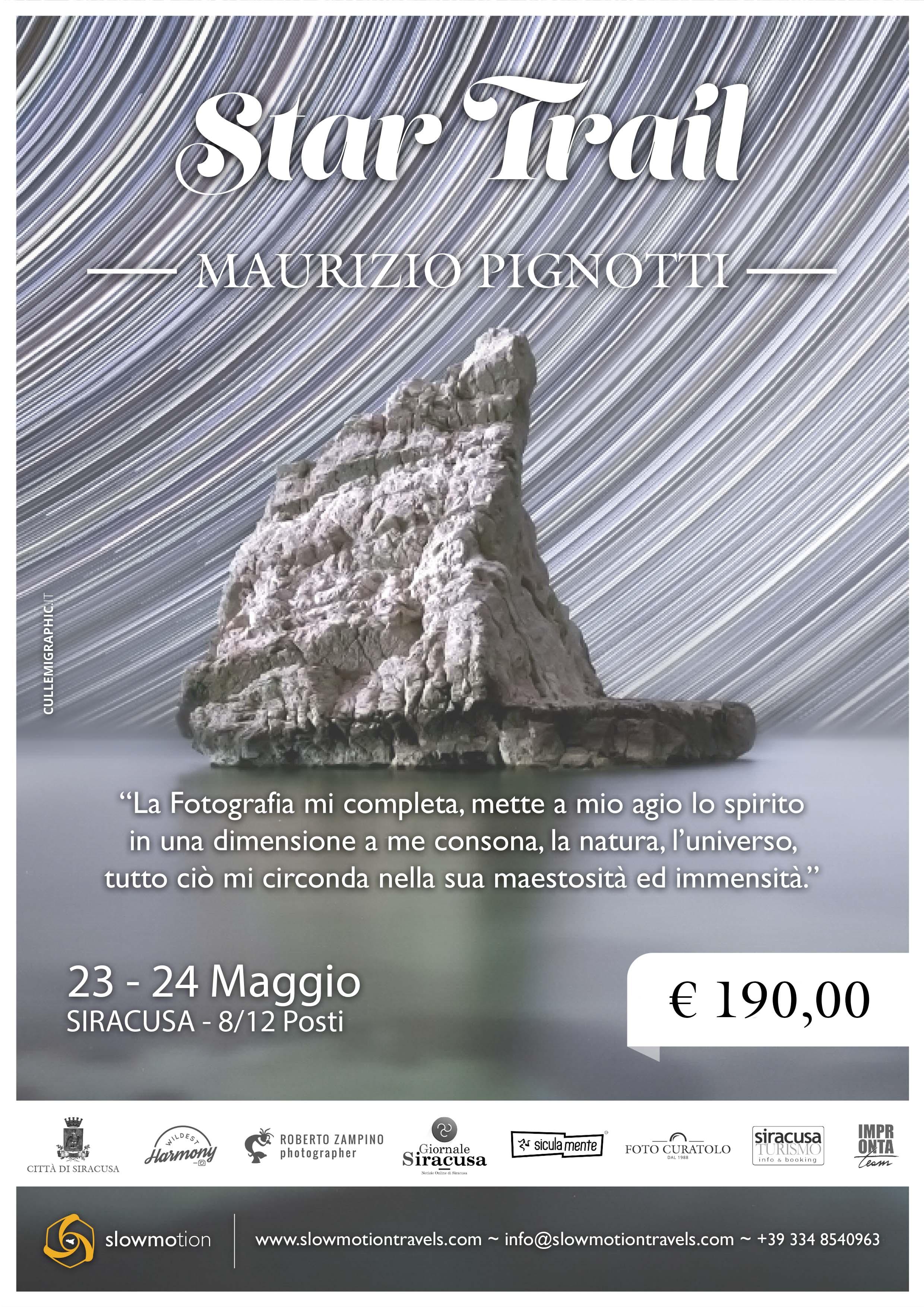 workshop star trail con maurizio pignotti