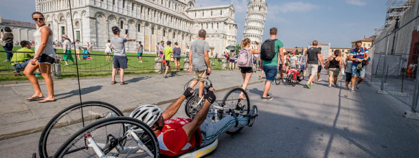 Dalla Sicilia all'Expò in Handbike – La disabilità negli occhi di chi la Guarda